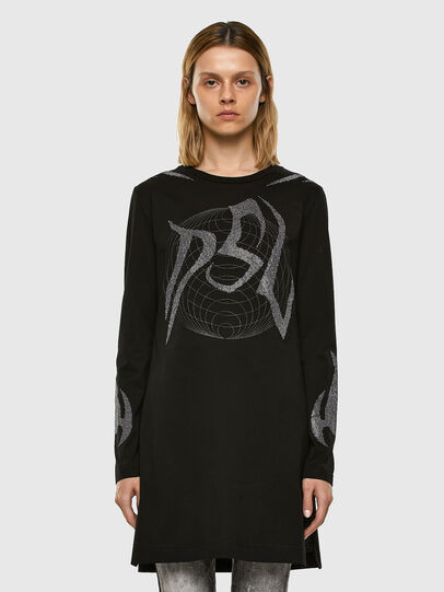 Diesel - T-ROSSINA, Black - T-Shirts - Image 6