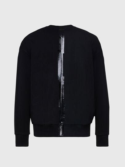 Diesel - S-BIAY-SPLIT, Black - Sweaters - Image 2