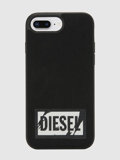 Diesel - BLACK DENIM IPHONE 8 PLUS/7 PLUS/6S PLUS/6 PLUS CASE, Black - Cases - Image 2