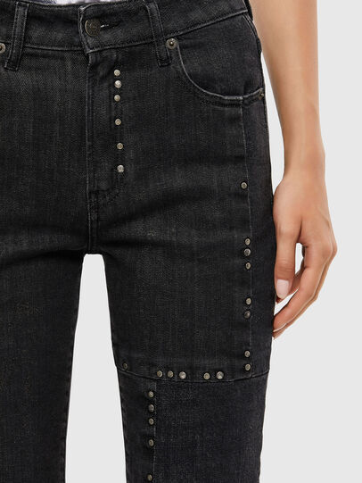 Diesel - D-Joy JoggJeans 009KY, Black/Dark grey - Jeans - Image 5