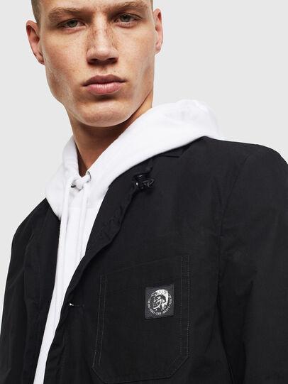 Diesel - J-REY, Black - Jackets - Image 3