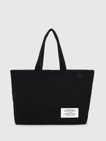 Diesel - D-THISBAG SHOPPER L, Black - Shopping and Shoulder Bags - Image 1