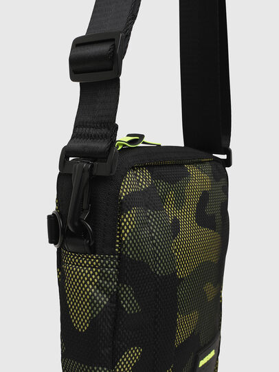 Diesel - ODERZO, Green Camouflage - Crossbody Bags - Image 4