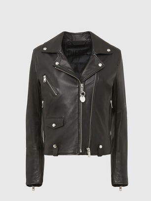 L-LYFA, Black - Leather jackets