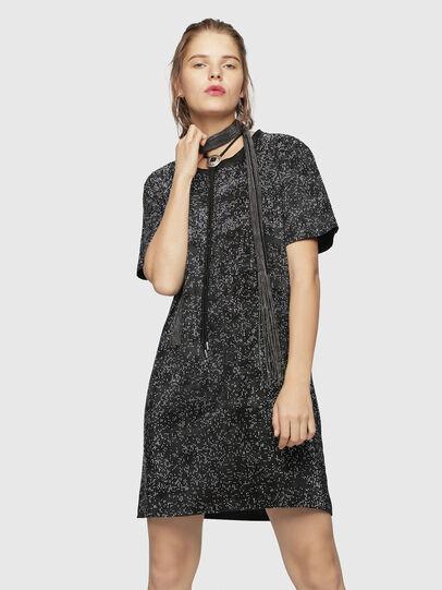 Diesel - D-ARY, Black/Grey - Dresses - Image 1