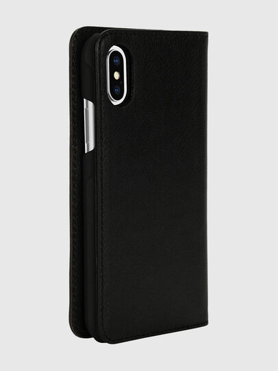 Diesel - DIESEL 2-IN-1 FOLIO CASE FOR IPHONE XS & IPHONE X, Black/White - Flip covers - Image 4
