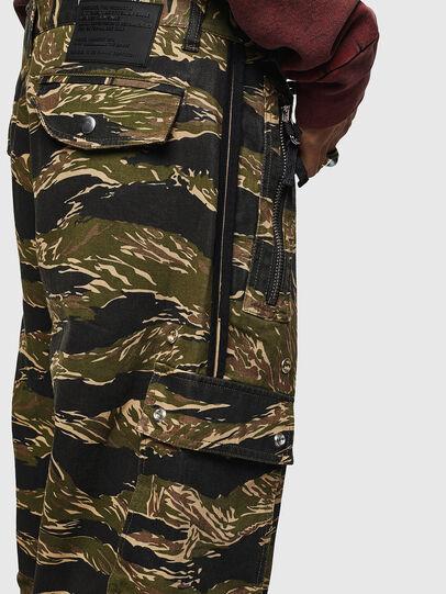 Diesel - P-LUZAVIC-TIGERCAM, Military Green - Pants - Image 7