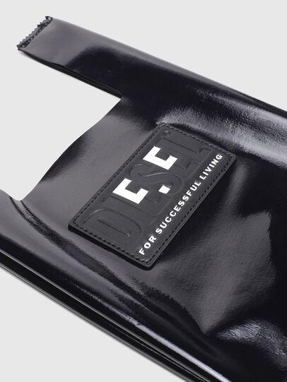 Diesel - GAR BAG XS, Black - Shopping and Shoulder Bags - Image 4