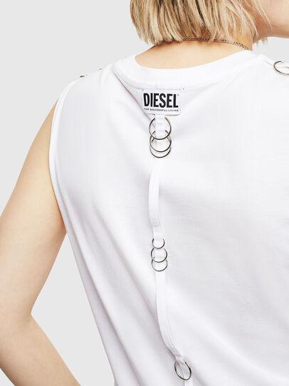 Diesel - T-LESLEE-A, White - Tops - Image 3