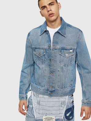 D-BRAY, Blue Jeans - Denim Jackets