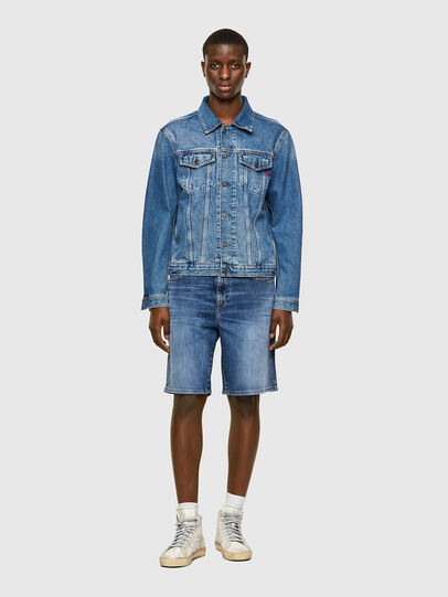 Diesel - D-STRUKT-SHORT, Medium blue - Shorts - Image 5