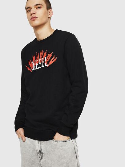 Diesel - S-GIR-A1, Black - Sweaters - Image 1