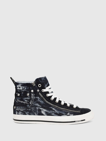 Diesel - EXPO-ZIP W, Dark Blue - Sneakers - Image 1