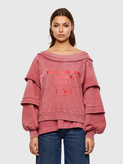 Diesel - F-STRAT, Pink - Sweaters - Image 1