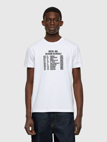 Diesel - T-DIEGOS-A11, White - T-Shirts - Image 1