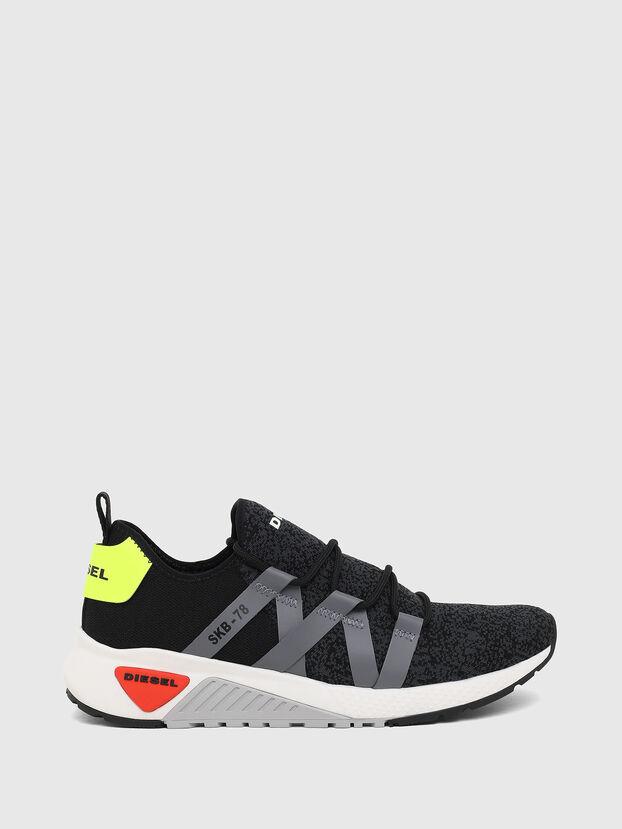 S-KB WEB LACE, Black/Blue - Sneakers
