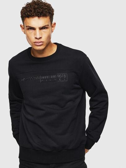 Diesel - S-CORY, Black - Sweaters - Image 1