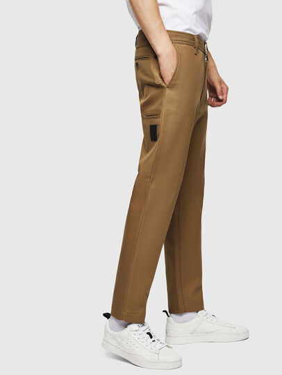 Diesel - P-JARED-NL, Light Brown - Pants - Image 4