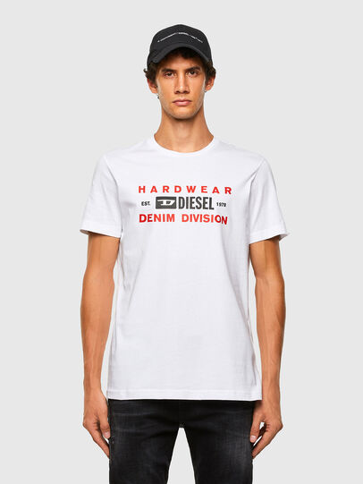 Diesel - T-DIEGOS-K32, White - T-Shirts - Image 4