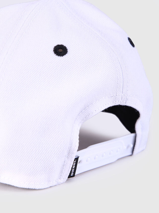Diesel CAKERYM, White - Caps, Hats and Gloves - Image 3