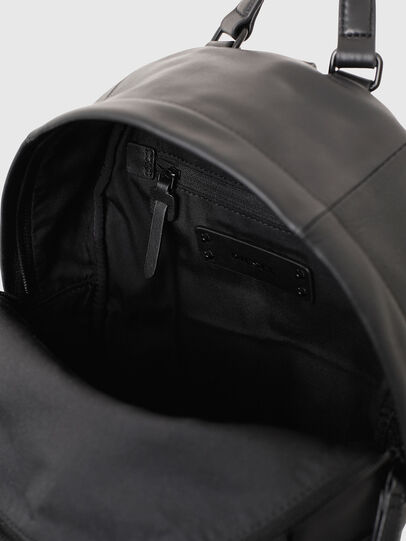 Diesel - LE-ZIPPER BACKPACK, Black - Backpacks - Image 6