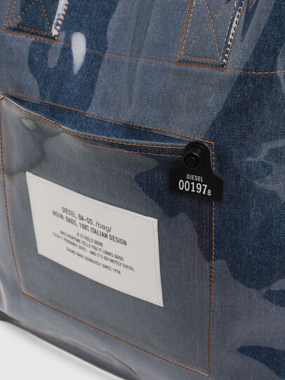 Diesel - F-THISBAG SHOWEI, Blue Jeans - Shopping and Shoulder Bags - Image 4