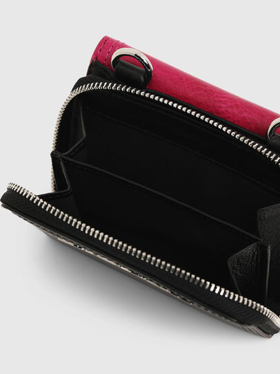 Diesel - LORY, Pink/Black - Small Wallets - Image 5