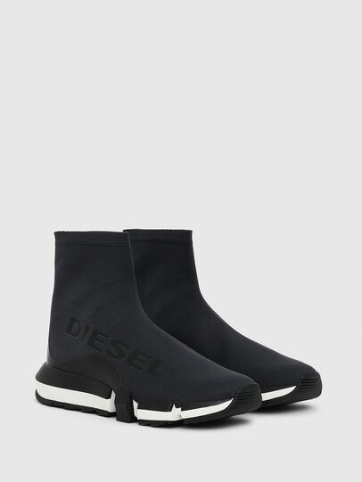 Diesel - H-PADOLA HIGH SOCK W, Black - Sneakers - Image 2