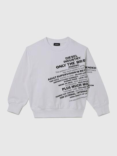 Diesel - SGIRKS1 OVER, White - Sweaters - Image 1