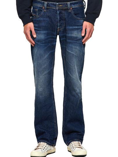 Diesel - Larkee 009MI, Dark Blue - Jeans - Image 1