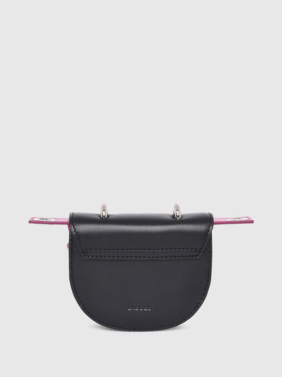 Diesel - SADDLELOCK XS, Black - Small Wallets - Image 2