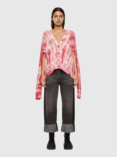 Diesel - M-INDIANA, Pink/White - Knitwear - Image 5