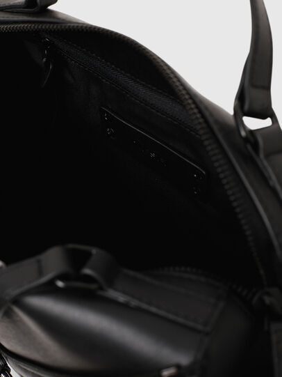 Diesel - LE-ZIPPER SATCHEL, Black - Satchels and Handbags - Image 4