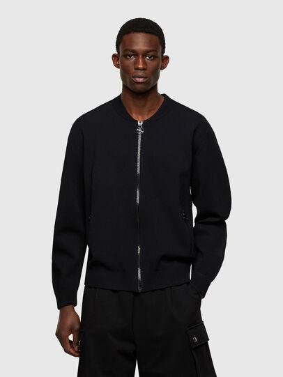 Diesel - K-OREGON BLACK, Black - Knitwear - Image 1