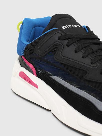 Diesel - S-SERENDIPITY SM, Black/Blue - Sneakers - Image 4