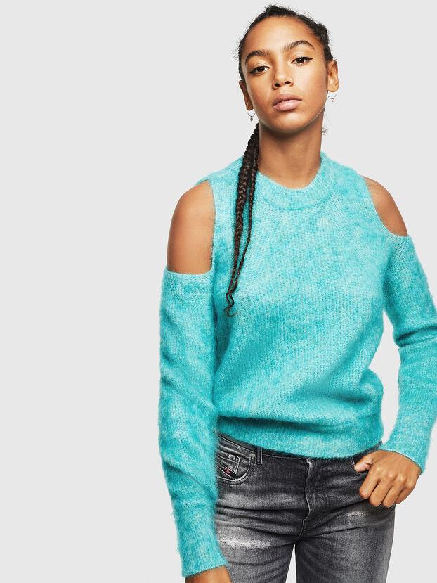 M-LARA, Azure - Knitwear