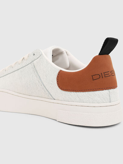 Diesel - S-CLEVER LOW LACE, White/Brown - Sneakers - Image 4