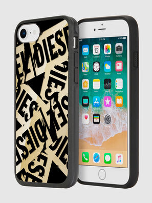 MULTI TAPE GOLD/BLACK IPHONE 8/7/6S/6 CASE,  - Cases