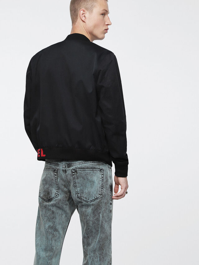 Diesel - J-GATE, Black - Jackets - Image 2