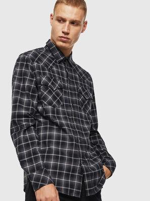 S-EAST-LONG-N, Dark grey - Shirts
