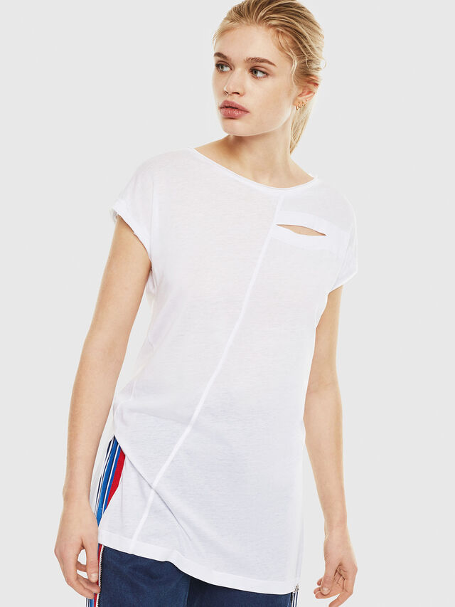 Diesel - T-DIMMY, White - Tops - Image 1