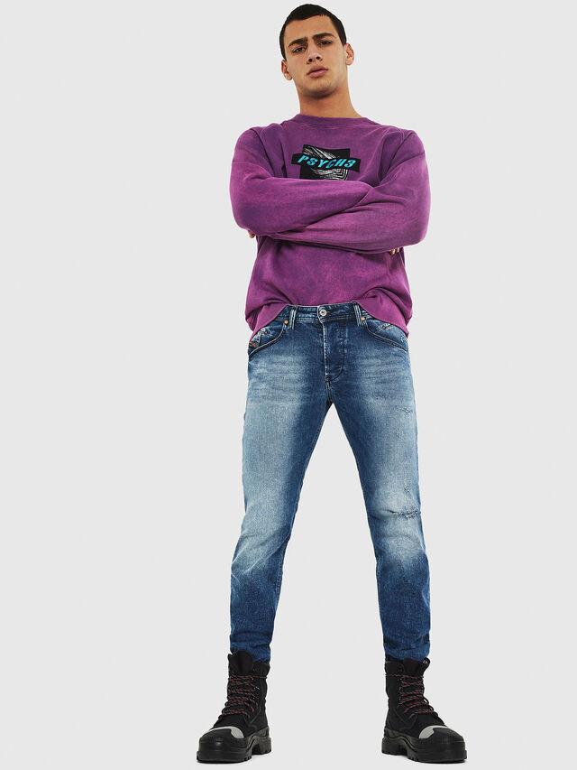 Diesel - Belther 081AQ, Medium blue - Jeans - Image 5