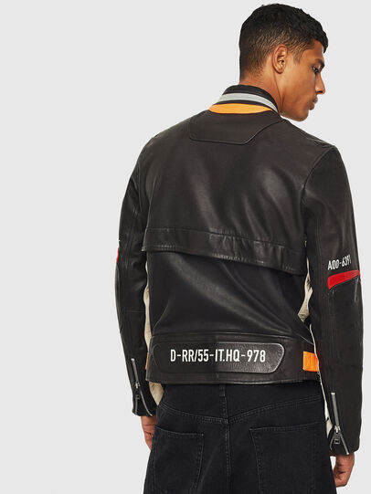 Diesel - L-DIXON, Black - Leather jackets - Image 2