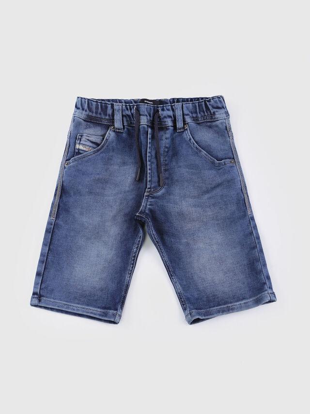 KIDS KROOLEY SH JOGGJEANS J, Blue Jeans - Shorts - Image 1