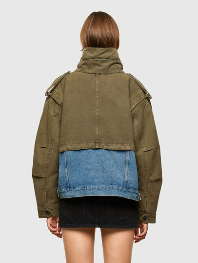 Diesel - G-CHRISTINA, Military Green - Jackets - Image 2
