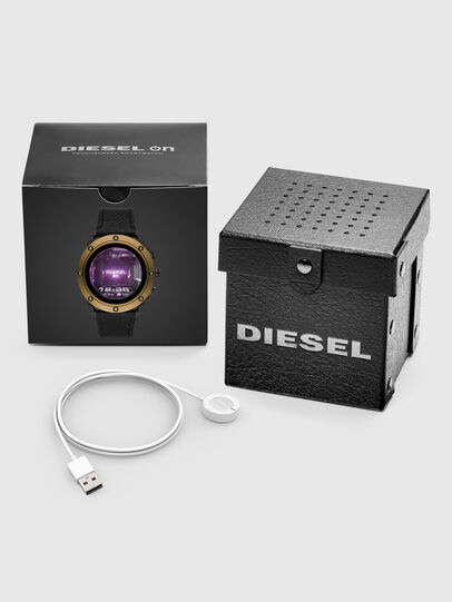 Diesel - DT2016, Black/Gold - Smartwatches - Image 5