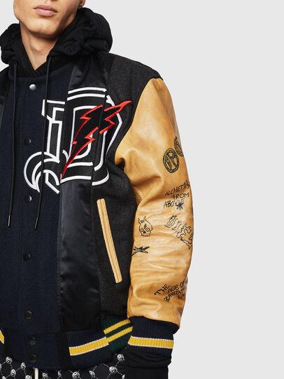 Diesel - L-ANTON,  - Leather jackets - Image 6