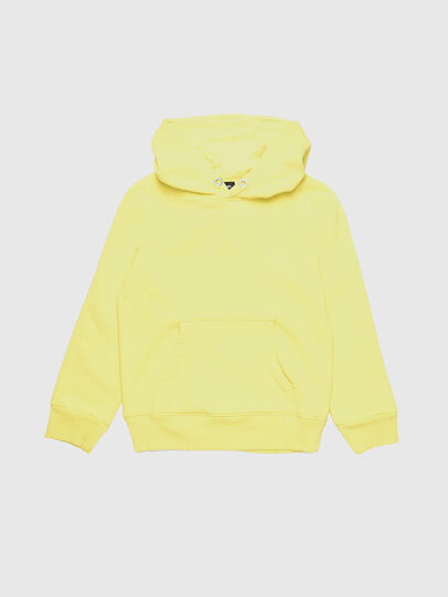 Diesel - SGIMHOODA, Light Yellow - Sweaters - Image 1