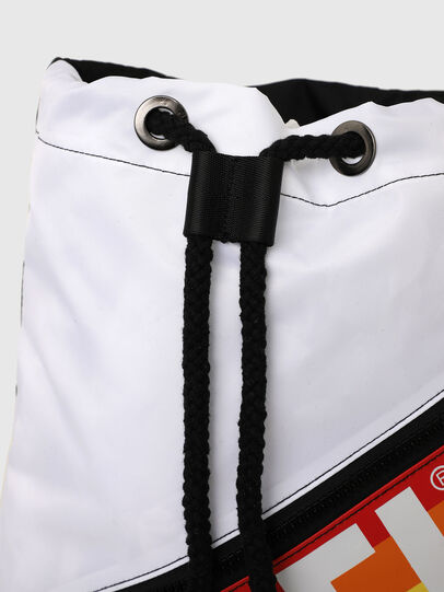 Diesel - BBAG-SACK-P, Black/White - Beachwear accessories - Image 5