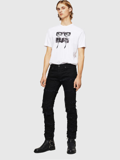 Diesel - TY-X1, White - T-Shirts - Image 5
